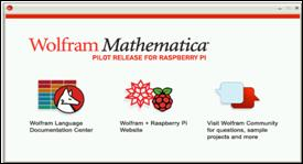 Mathematica splash screen